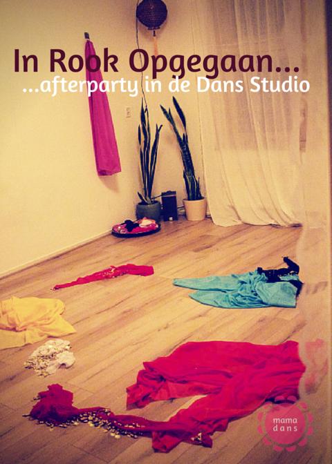 Afterparty Open Huis Studio dansstudio zwangerschapsdans