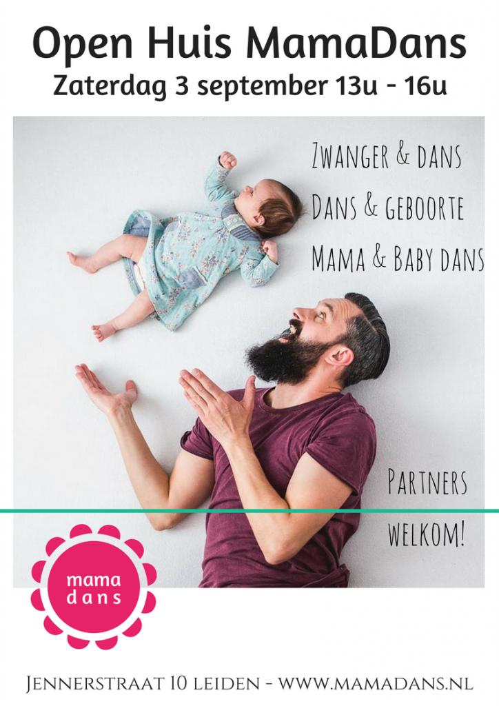 Open huis MamaDans sept 2016